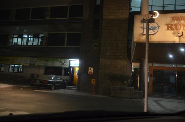 Rumah sakit Bethesda tampak sepi pengunjung